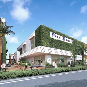 フレッドシーガルの大型旗艦店が横浜に フードホールを初展開