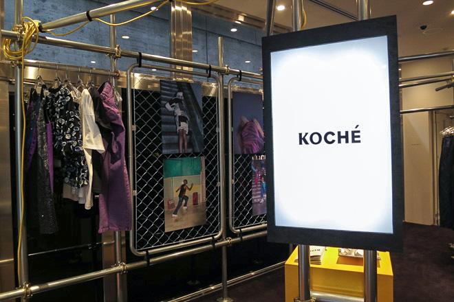 KOCHÉ 国内初のポップアップストア