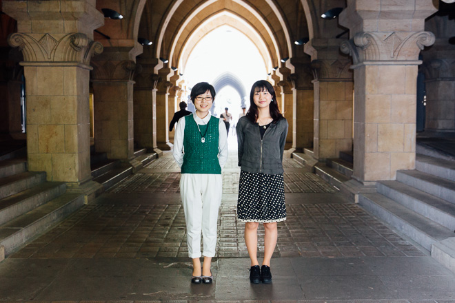 左からfab代表の吉備悠理さんと横山由佳さん