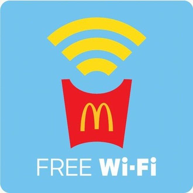 マクドナルドが6月20日から無料Wi-Fi導入への画像