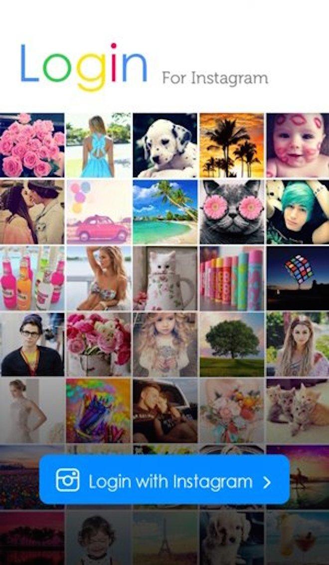 インスタグラムの写真が簡単にダウンロードできるアプリ「InstaSave」の画像