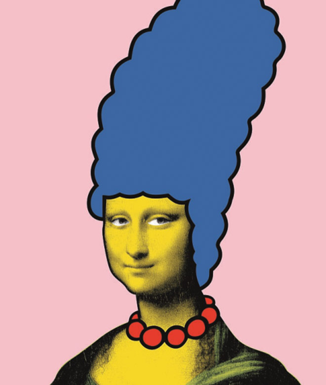 """Mona Simpson"" Made by Banksy Gallery"
