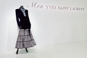 サンローラン×ユナイテッドアローズ、ヴィンテージと現代のファッションが融合した展覧会開催