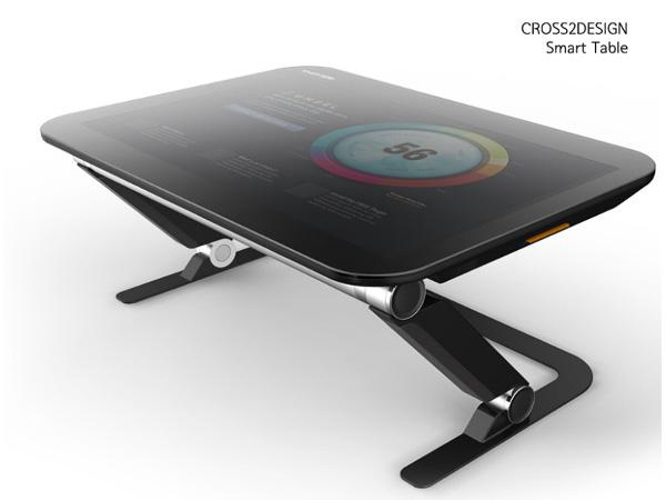 タブレット一体型テーブル「SMART TABLE」登場の画像