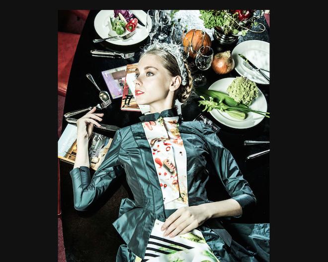 福岡発「クォンタイズ」のファッション×食べるアートの世界の画像