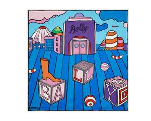 Mr. Aで知られるアンドレが「バリー」とコラボ スカーフや革小物を限定発売