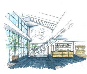 「エストネーション」関西初の路面店を神戸に出店 ニコライ・バーグマンとのコラボカフェ併設