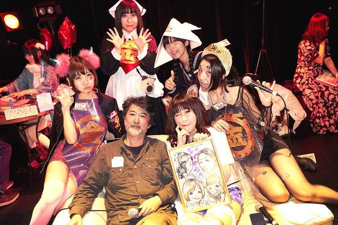 お気に入りのアーティストを指名できる「シャバクラ!GOLD」開催の画像