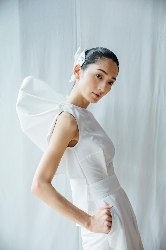 ハナエモリマニュスクリ 「A01 ver. Head Dress」を着用したモデル