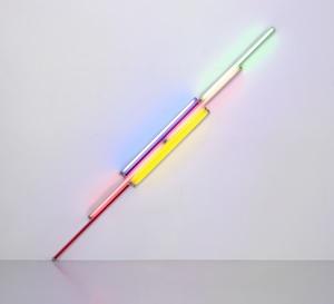 「光の芸術」に生涯を捧げたダン・フレイヴィンの展覧会がエスパス ルイ・ヴィトン東京で開催