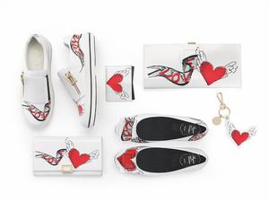 赤いハートがモチーフ「ロジェ ヴィヴィエ」と「トッズ」からバレンタインコレクション発売