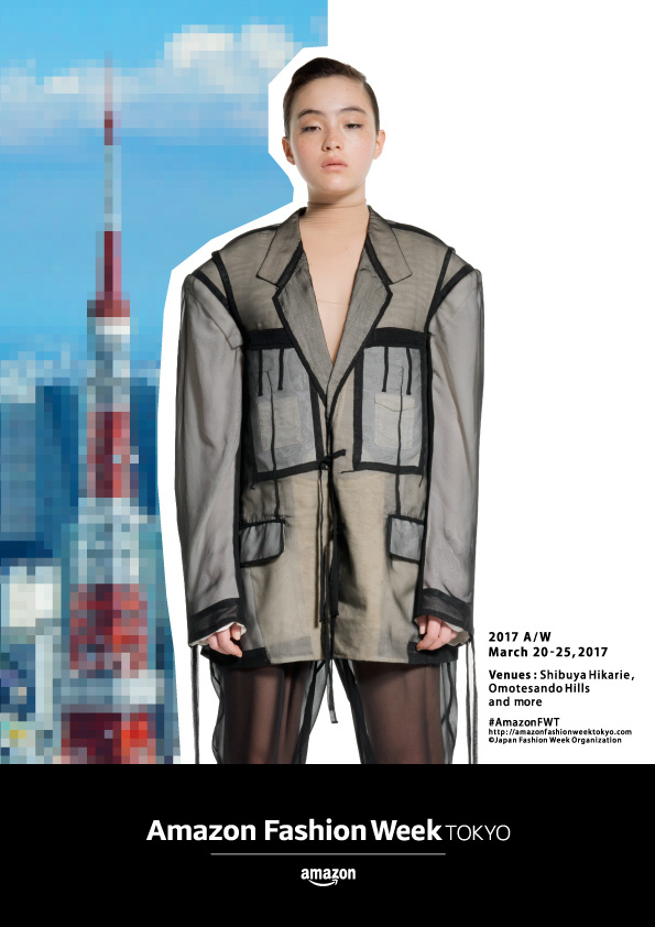 キービジュアル(Creative & Art Director: ヨルコ バンザイ、Jacket & Pants: SOSHI OTSUKI)