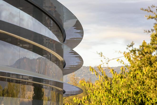 Apple本社の新社屋