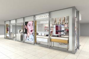 バーバリー ビューティ ボックス、国内4店舗目がルミネ横浜にオープン