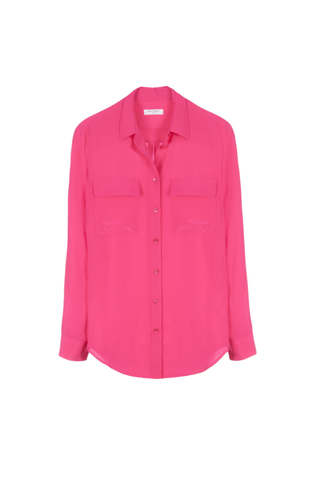 GINZA SIX限定のピンクシャツ 2万9,000円