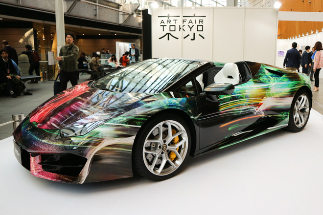 スプツニ子!とランボルギーニによるアートカー