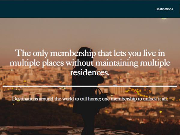世界各地の宿泊施設に泊まり放題の定額制サービス「StayAwhile」が登場の画像