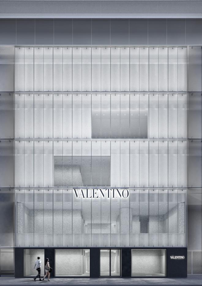 「ヴァレンティノ銀座」正面イメージ