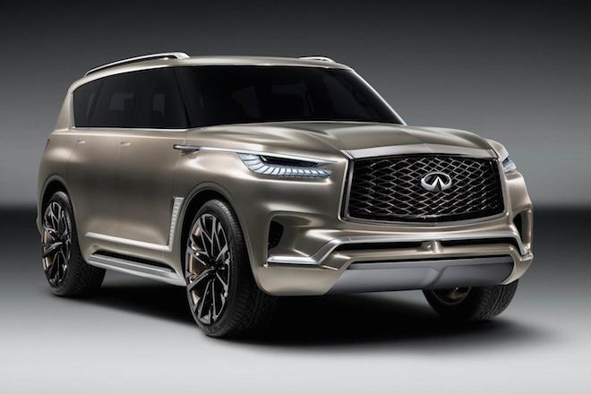 日産「インフィニティ」が高級SUVのデザインスタディモデル発表の画像