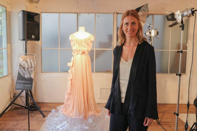 H&M グローバルプロダクション責任者のヘレナ・ヘルメルソン
