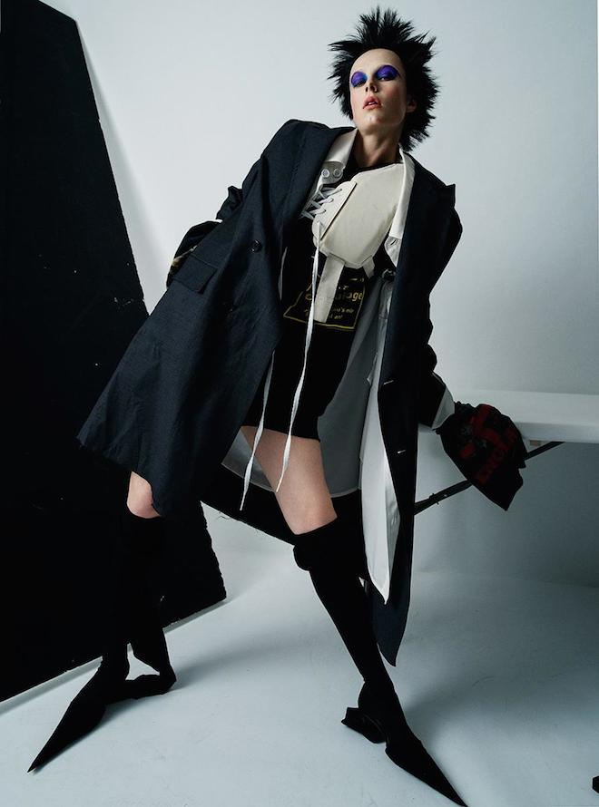 ティム・ウォーカーが撮り下ろすロンドン・ファッションシーンの豊かな創造性の画像