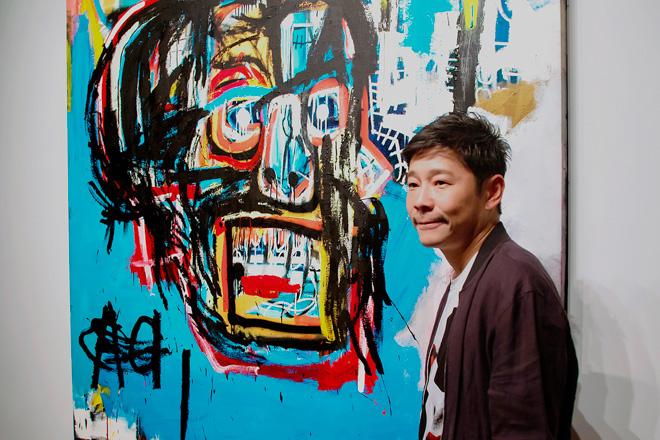 日夜に開催されたサザビーズ(Sotheby\u0027s)のオークションで、アメリカ人の画家ジャン=ミシェル・バスキア の絵画作品を約123億円(1億1,050万ドル)で落札した。
