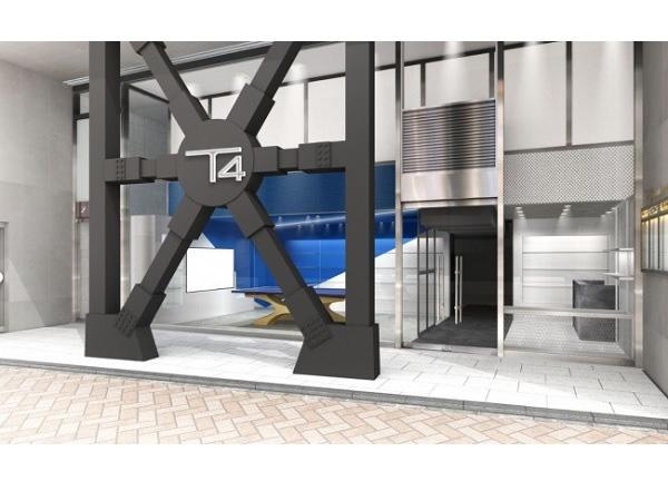 日本初、複合型卓球スペース 「T4」が渋谷に誕生の画像