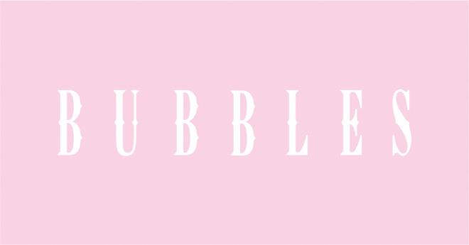 BUBBLESロゴ