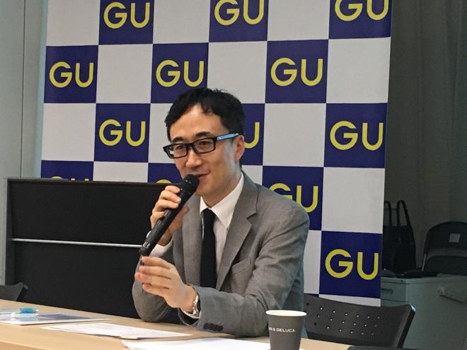 GU柚木治代表取締役社長