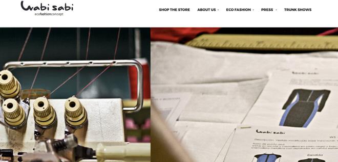 エコフレンドリーな衣類に特化したウィメンズブランド「Wabi Sabi」に注目の画像