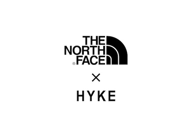 「ザ・ノース・フェイス×ハイク」ロゴ