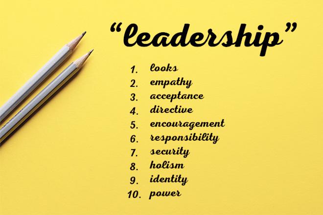 真のリーダーに望まれる10の資質の画像