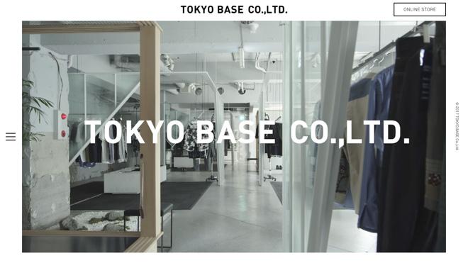 TOKYO BASE公式サイトより