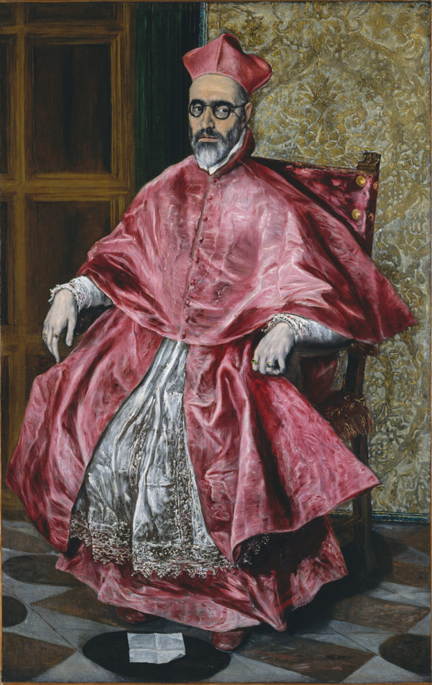 El Greco, Cardinal Fernando Niño de  Guevara (1541–1609), ca. 1600, oil on canvas;  The Metropolitan Museum of Art, H. O.  Havemeyer Collection, Bequest of Mrs. H. O.