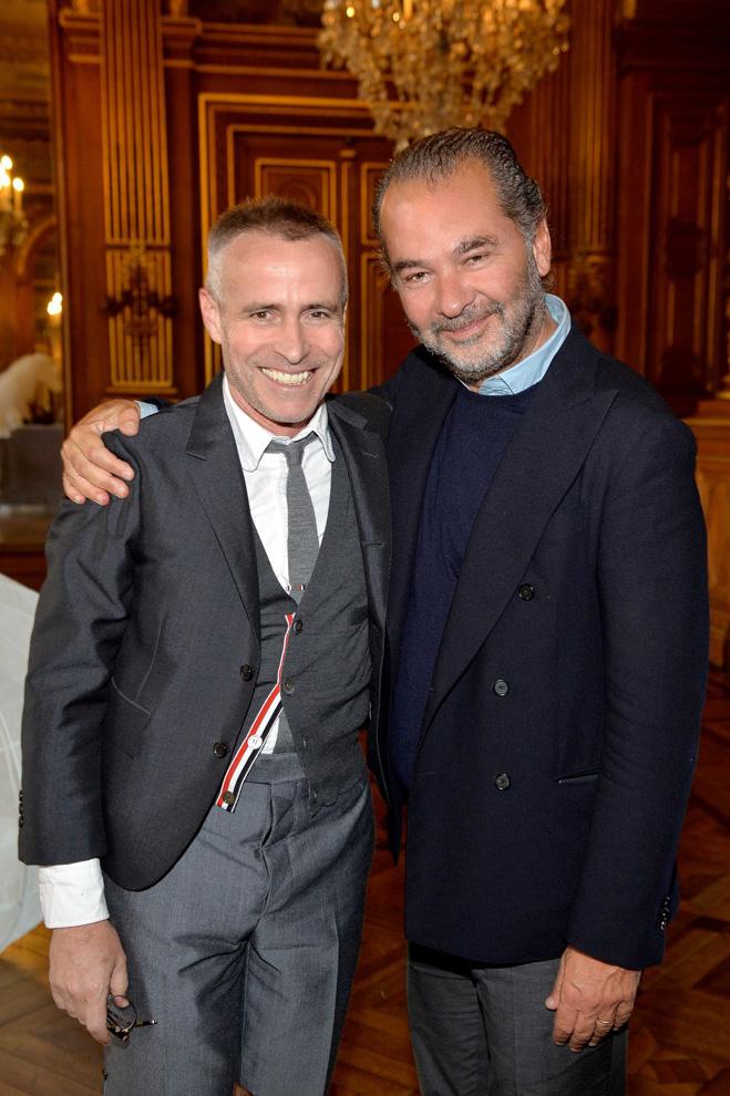トム・ブラウンとレモ・ルッフィーニ