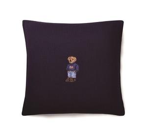 「ラルフ ローレン ホーム」からポロベアを刺繍したホリデーコレクションが登場