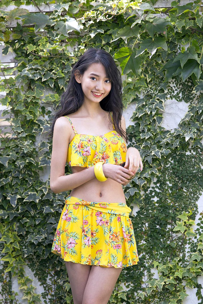 「三愛水着楽園」イメージガールに16歳の黒木麗奈起用の画像