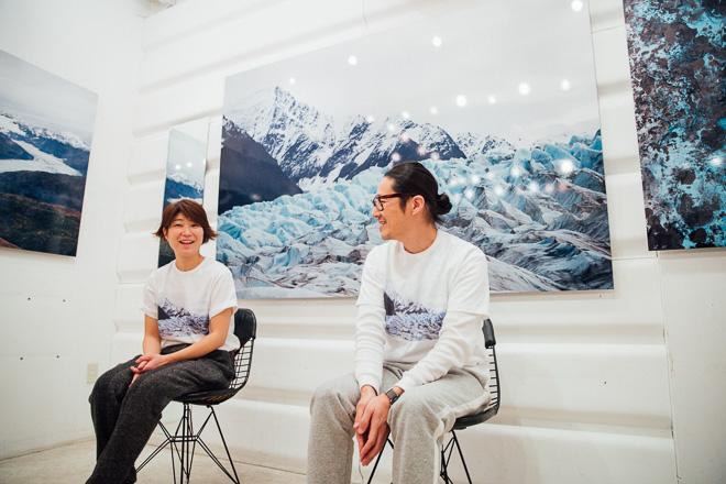 左)今津聡子、 右)永直樹