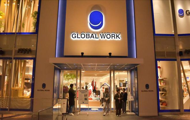 GLOBAL WORKキャナルシティ博多店