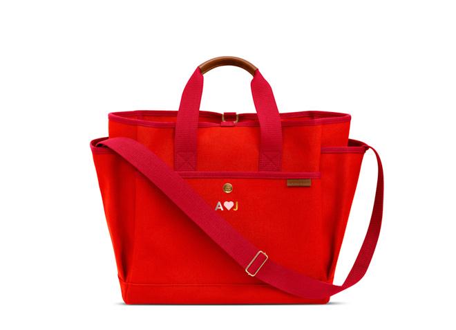 No.3 Tool Bag 税別8万6,000円 / エクスクルーシブプリントカラー:ゴールド、シルバー