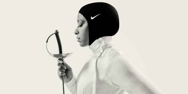 フェンサーのIbtihaj Muhammad