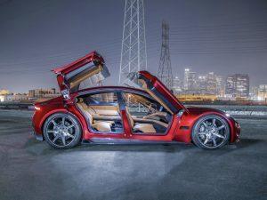 Fisker、フル充電で640キロ以上走る新電気自動車「Emotion」開発の画像