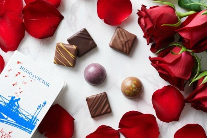 「バラ色の人生」から着想を得たショコラなど、表参道ヒルズでバレンタイン限定チョコ発売の画像