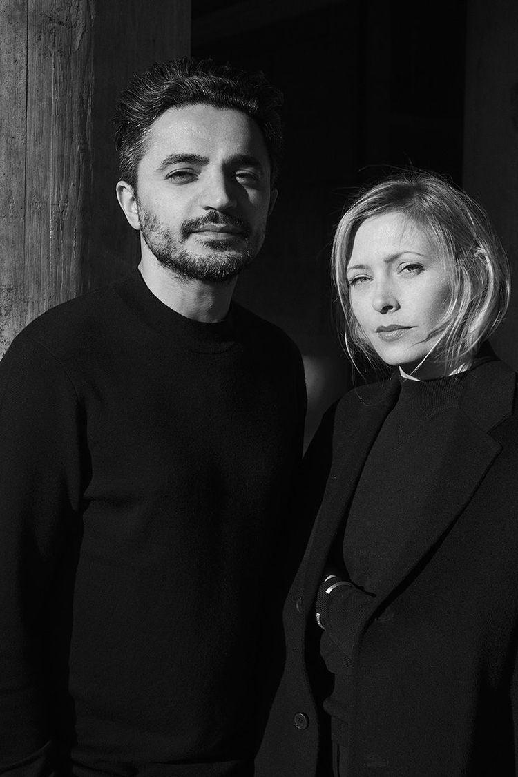 デザイナー セイフ・バキールとエマ・ヘドルンドのポートレート