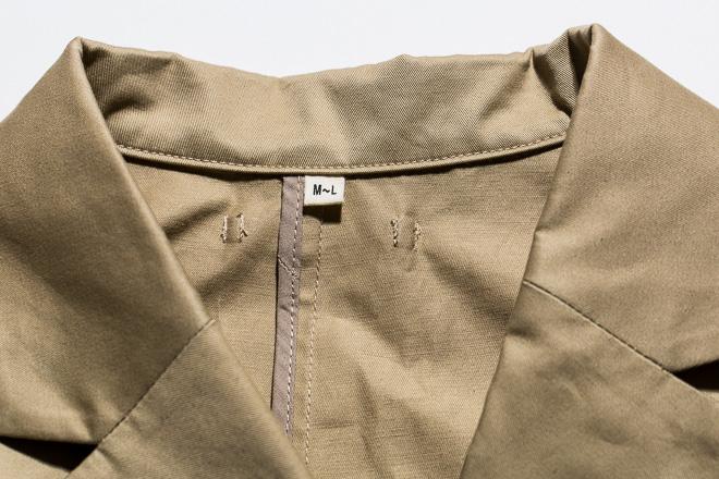 綿ボーダードロップショルダーTシャツ