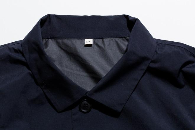 ポケットなど、さり気なくワークディテールを感じさせるデザインも特徴で、レイヤードスタイルにも活躍必至!9250円/MUJI Labo(無印良品 有楽町)