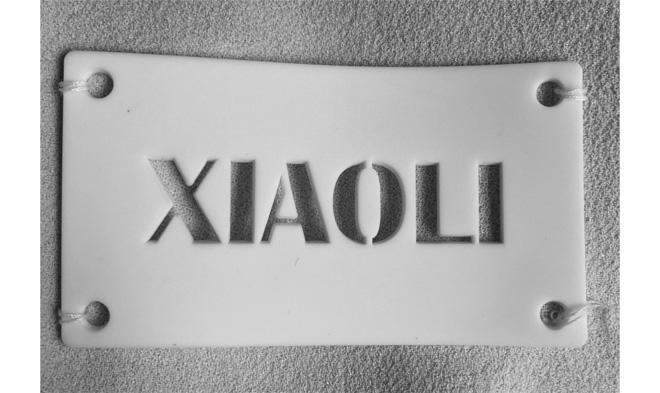注目のニューブランドが語る7つの事 -vol.3-「XIAO LI」の画像