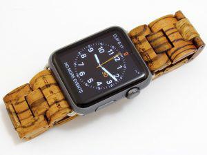 木製のAppleウオッチ交換バンド登場の画像