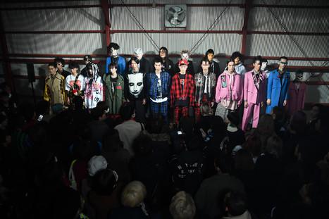 KIDILL 2018-19年秋冬コレクションのプレゼンテーション会場