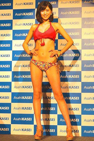 旭化成のキャンペーンモデルに18歳の北向珠夕の画像